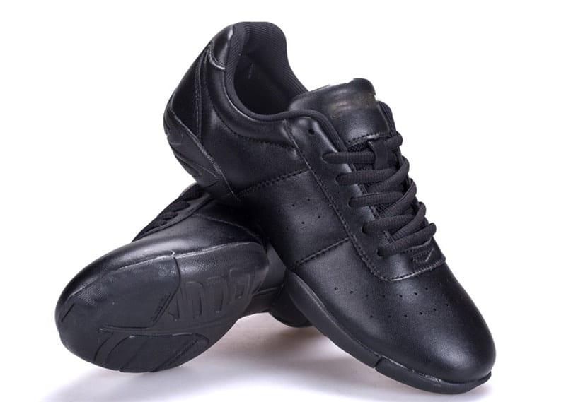 modern dance sneaker black